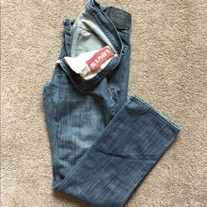 Levi's 514 Slim Straight Jeans Men's Size: 33x34
